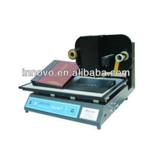 Plateless Digital hot stamping Foil Stamping digital foil printer