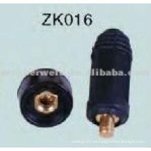 Conector de soldadura de cable ZK016