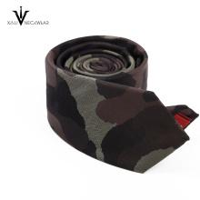 Custom Wholesale Skinny Silk Tie Wedding Woven Mens Paisley Tie