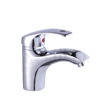 High quality chrome polished single level zinc basin water faucets mixers taps