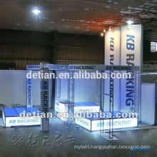 Shanghai Design and produce display exhibition booth modular trade show equipment exhibition display booth