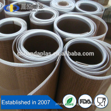 PTFE Fiberglass Mesh Fabric Material teflon belt UV resistant open mesh belt