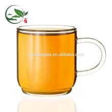 Taza de té del estilo occidental del Borosilicate con la taza de té de cristal del platillo 140cc / cup