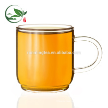 Borosilicate Western Style Tea Cup with Glass Saucer Glass Tea Cup 140cc/cup