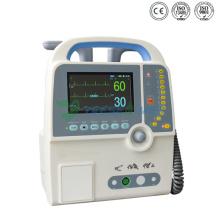 Moniteur externe défibrillateur externe biphasique automatisé portatif d'hôpital médical