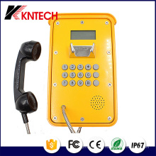 Tunnel Telephone VoIP Phone Knsp-16 LCD Waterproof Industrial Rugged Telephone