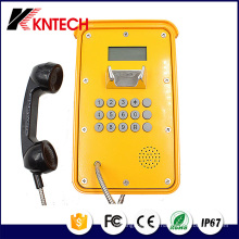 Video IP Phone Pipeline Phone Telefone à prova de intempéries (Knsp-16) Kntech