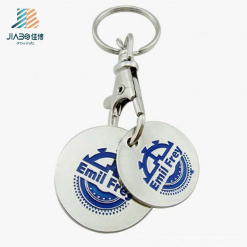 Die Casting Zinc Alloy Custom Shopping Trolley Tokens with Dog Hook