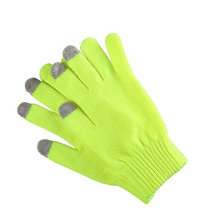 Solid Colors Winter Classical Knitted Gloves