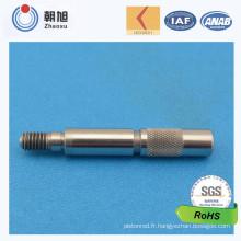 Arbre d'essieu cannelé non-Sandard de prix bas d'usine de la Chine