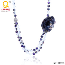 Jewelry Fashion Design Crystal Fancy Necklace