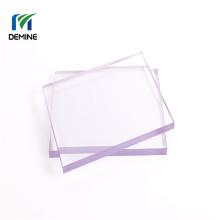 Porte de grange en tôle de polycarbonate à revêtement dur transparent