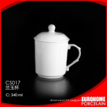 new product from guangzhou crockery super white ceramic mug
