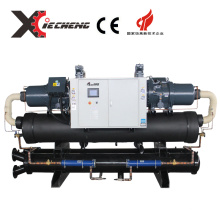 high effective cooling capacity screw chiller for injection factory