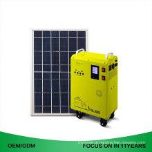 Estação de energia solar portátil portátil solar do sistema Home da energia solar do gerador 1500W