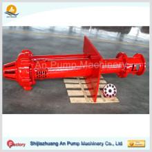 Bomba de sumidero vertical centrífuga para servicio pesado / bomba de lodo sumergible