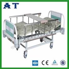 Cama de Hospital Triple dobrável de ABS
