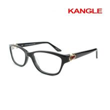 Fashion Lady nice eyeshape acetate eyeglasses, new shape acetate optical frames for 2017