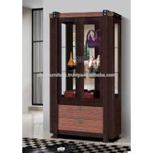 Display Cabinet, Wooden Showcase, Curio Cabinet