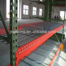 Jracking Warehouse Storage Equipment Heavy Duty Teardrop estante de cable industrial
