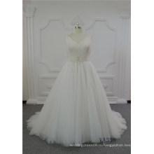 последние кружева свадебное платье бальное платье слоновая кость свадебное платье 2017