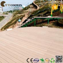 Bearbeitete Bodenbeläge, Holz-Kunststoff Verbundwerkstoff, wpc Holz Kunststoff Verbund-Decking für Outdoor