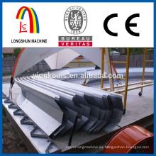 Tornillo de tornillo de la junta arco de acero paneles de techo haciendo la máquina