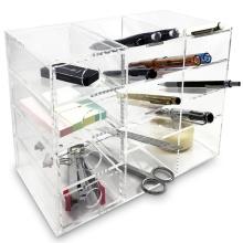 4 Shelf Acrylic Desktop Organizer Office Supply