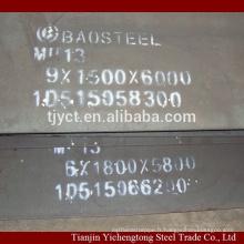 Haute plaque d'acier au manganèse Mn13 / x120Mn12 / 1.3401