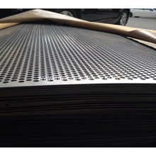 Stainless steel perforated plates