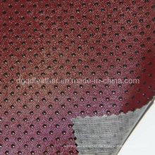 Hohen Kratzer Resistantfurniture PVC-Leder (QDL-FV015)