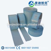 Carretes médicos de esterilización transparente para uñas de belleza