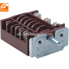 7 position oven rotary switch t150 RT345-1A brown