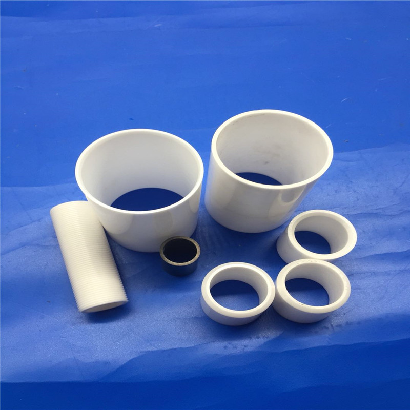 Alumina Threaded Ceramic Tube