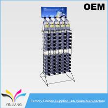 OEM Design Wire 2 Tier Flasche Display Rack für Soda Flaschen
