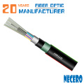 Cabo blindado GYTA53 do cabo de fibra ótica de 288 núcleos