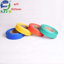 Feibo factory supplier low temperature colorful polyolefin PE ID 25mm 1kv heat shrink tubing