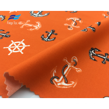 Tissu de maillot de bain recyclé en nylon extensible, spandex lycra
