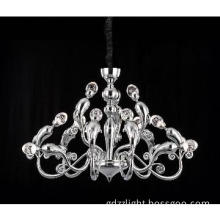 LED Crystal Chandelier Lighting, High Quality Ceiling Suspension Lamp