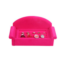Sofa Design Pink Velvet Bijoux Bijoux Ring Display (WS-PSofa)