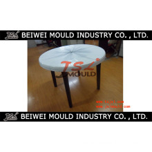 Round Plastic Injection Table Mould