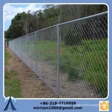 galvanized steel wire mesh chain link fence/ chain link fence extensions/ chain link portable fence