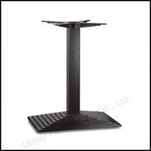Black Rechteck-Layer Gusseisen Tisch Basis (SP-MTL206)