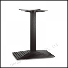 Black Rectangle Layer Cast Iron Table Base (SP-MTL206)