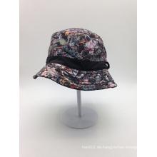 OEM Sublimation Printed Bucket Hat mit Ihrem Label Logo (ACEK0112)
