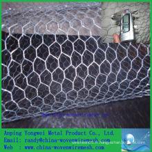 Usine chinoise Vente chaude Un treillis métallique hexagonal de ping / fil de poulet décoratif (alibaba china)