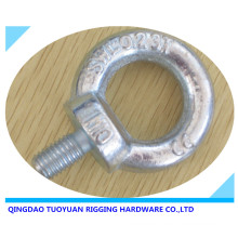 Acero al carbono de alta resistencia de la gota forjada galvanizada elevación armella (DIN580)