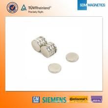 D14 * 2 mm N42 Neodym-Magnet
