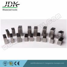 Segments de diamant de formule de sandwich pour la coupe dure de granit