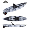 Alibaba online trade show boat factory wholesale 12ft  fishing kayak with wheels